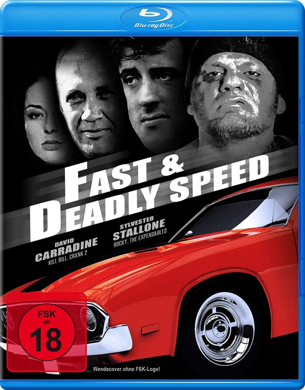 Fast & Deadly Speed (4 Filme Edition) UNCUT BLU RAY