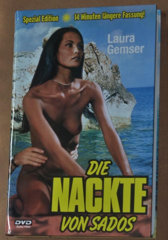 Die Nackte von Sados - Laura Gemser, Gr. Hartbox, Cover C