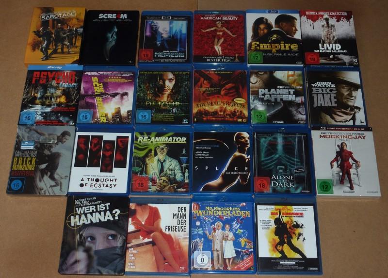 Mega Blu Ray + DVD Sammlung (Serien Boxen,Staffeln)