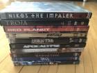 10 DVDs bunt gemischt