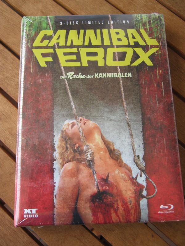 Cannibal Ferox Mediabook XT OOP OVP