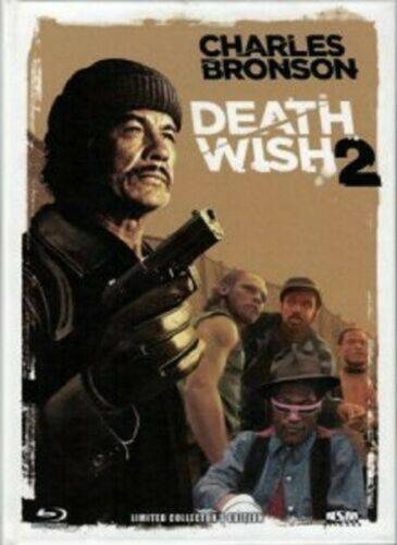 Death Wish 2 UNCUT MEDIABOOK NEU+OVP