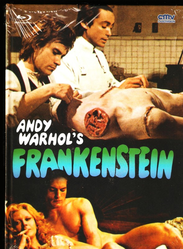 Frankenstein Mediabook B 127/333 Limited CMV Andy Warhol´s