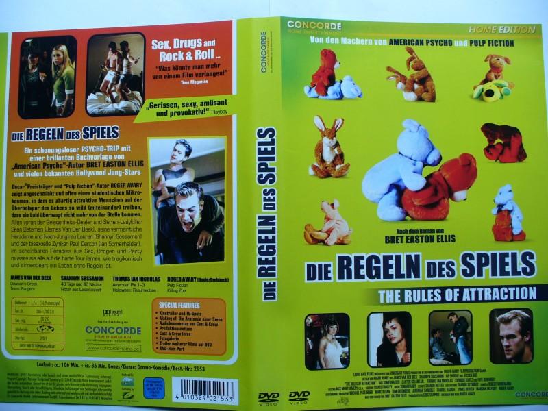 Die Regeln des Spiels ... James Van Der Beek  ... DVD