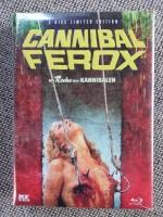 Cannibal Ferox wattiert mit Schnapszahl 88/1000 neu ovp