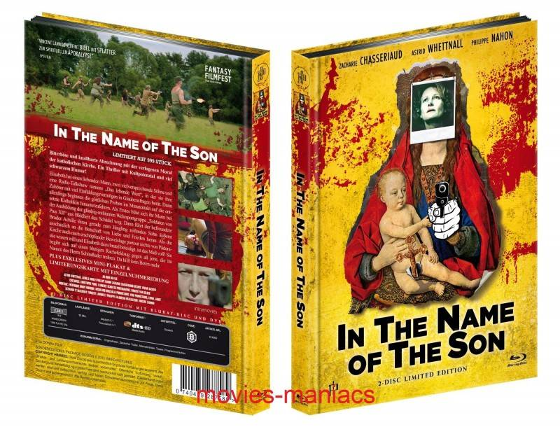 In the Name of the Son - Mediabook (Blu Ray+DVD) NEU/OVP