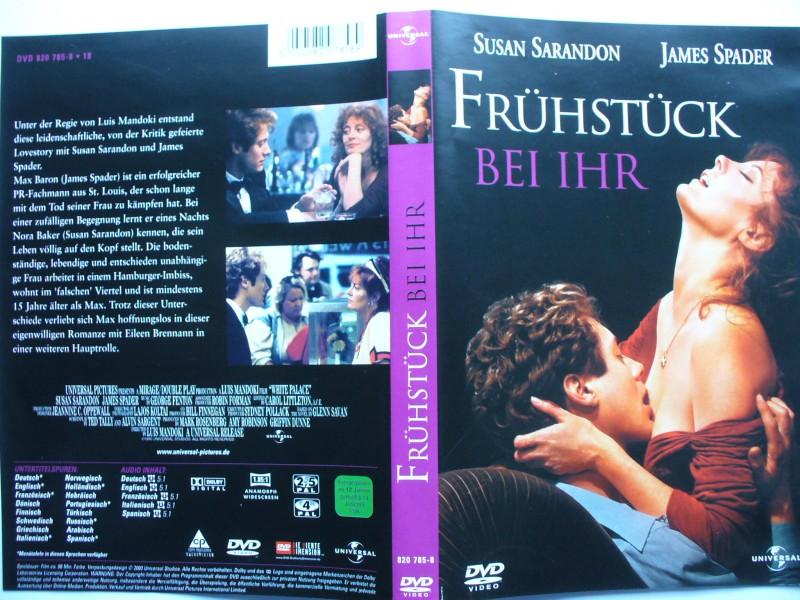 Frühstück bei Ihr ... Susan Sarandon, James Spader  ... DVD