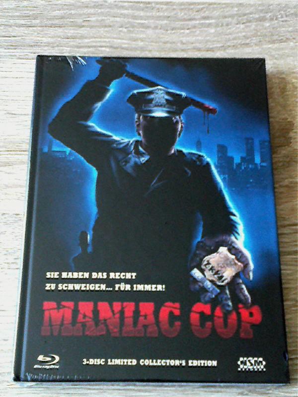 MANIAC COP(KLASSIKER)LIM.MEDIABOOK C(161/333)UNCUT
