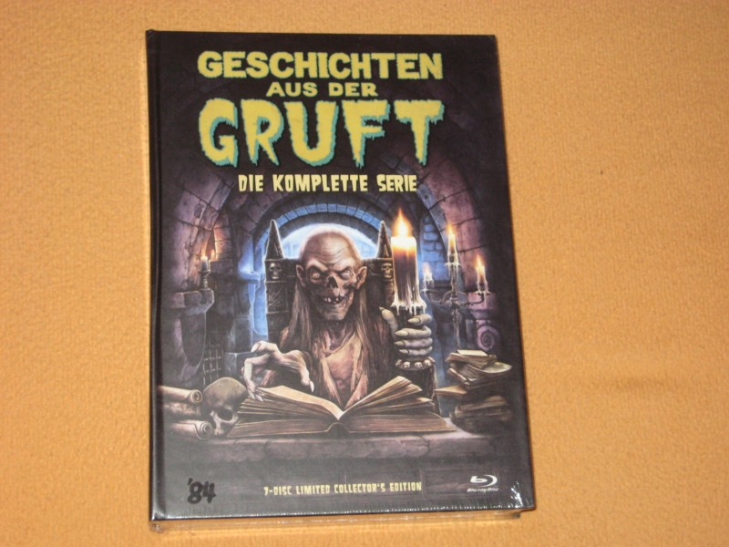Geschichten aus der Gruft -  Mediabook  7 Blu-Ray - NEU OVP