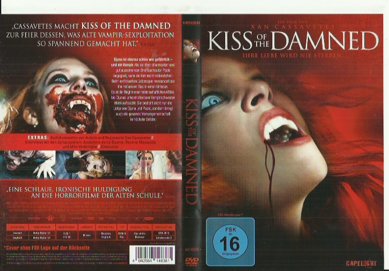 Kiss of the Damned - Vampir Horror (001445645, Konvo91)