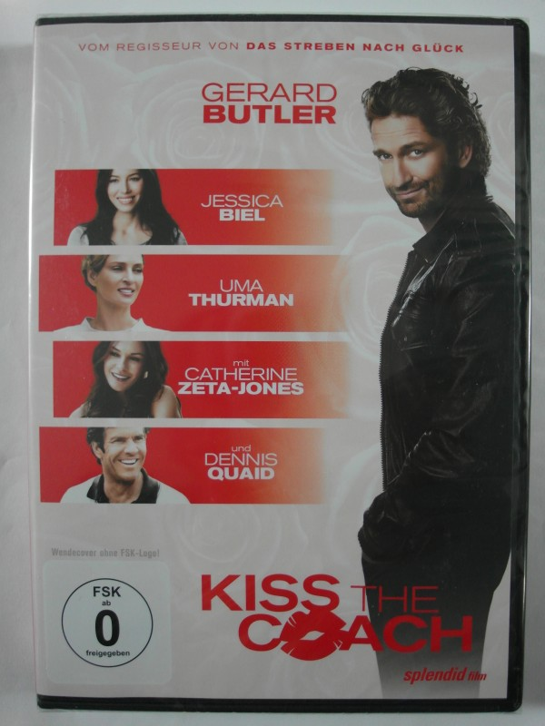 Kiss the Coach - Gerard Butler, Catherine Zeta- Jones