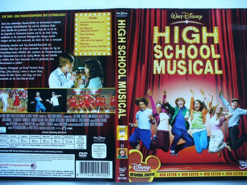 High School Musical ...Zac Efron, Vanessa Anne Hudgens  DVD