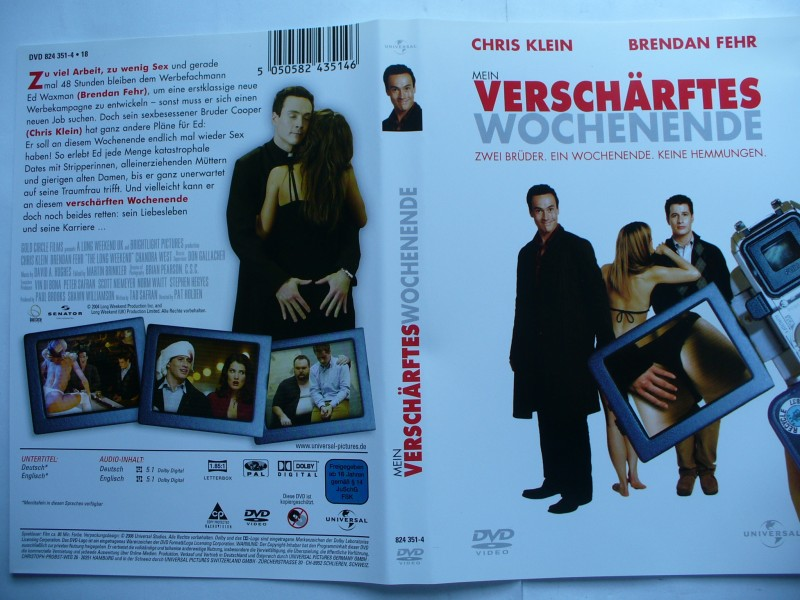 Mein verschärftes Wochenende ... Chris Klein ...  DVD