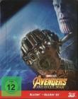 Avengers: Infinity War - 3D/2D Steelbook
