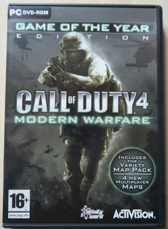 Call of Duty 4-Modern Warfare PC-Spiel DVD-ROM GotY-Edition