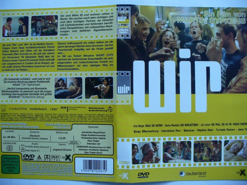 Wir ... Knut Berger, Karina Plachetka, Lilia Lehner ... DVD