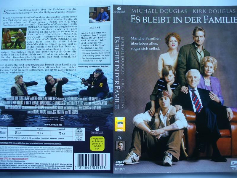 Es bleibt in der Familie ... Michael Douglas ... DVD