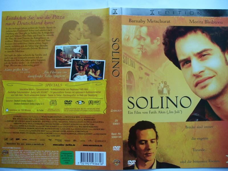 Solino ... Barnaby Metschurat, Moritz Bleibtreu ... DVD