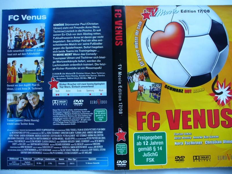 FC Venus... Christian Ulmen, Nora Tschirner ... DVD
