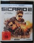 Sicario 2  - 4K Ultra HD BD+BLU RAY mit Benicio Del Toro