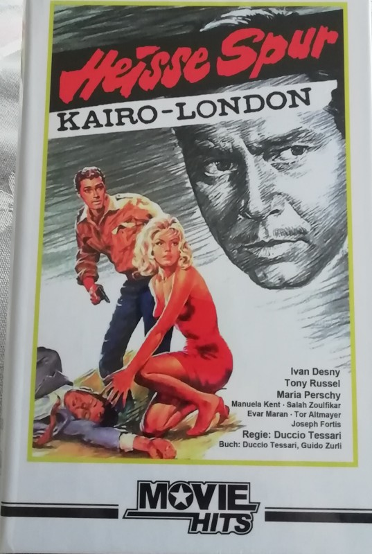 Gr. HARTBOX - Heisse Spur Kairo-London *Dvd*Neu - Movie Hits