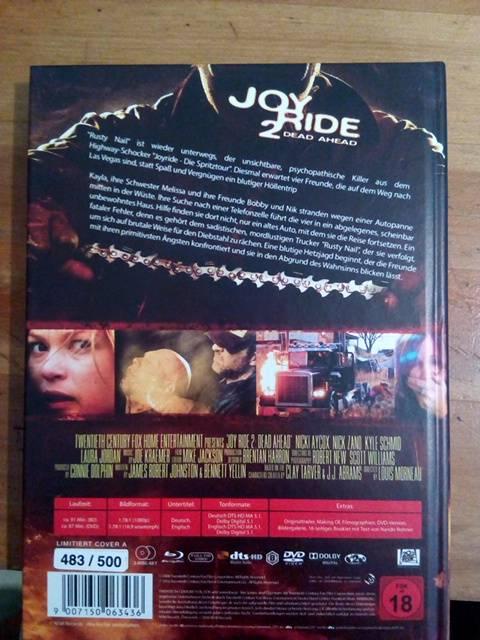 Joy ride  2 Mediabook