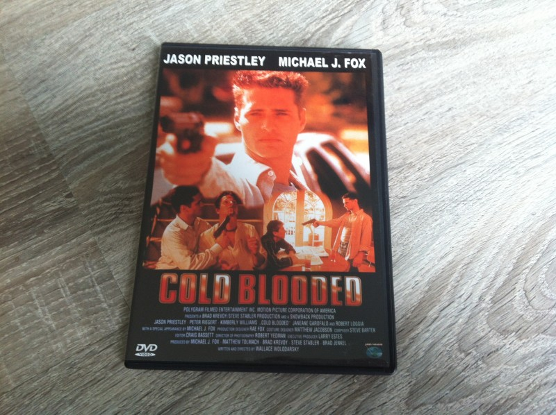 Cold Blooded - UNCUT - DVD - deutsch - wie neu