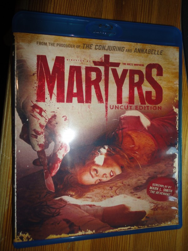 Martyrs - uncut Edition, deutsch, Blu-Ray