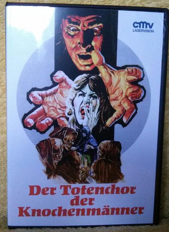 Der Totenchor der Knochenmänner DVD Uncut CMV (G)