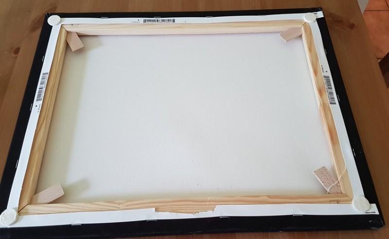 Pornart Akt  40x50 cm Dreier Sandwich Double Penetration