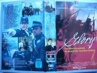 Glory ... Matthew Broderick, Denzel Washington  ... VHS