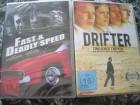 FAST AND DEADLY SPEED DVD + DRIFTER DVD NEU OVP