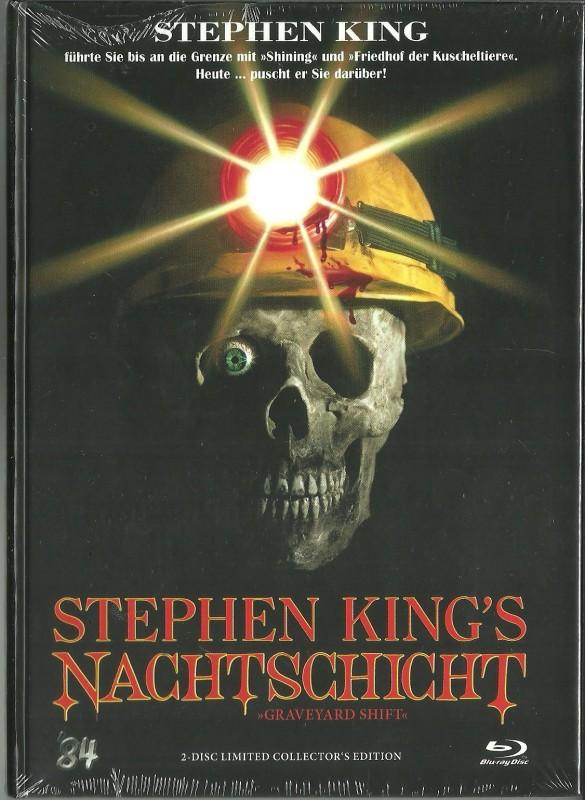 STEPHEN KING`S NACHTSCHICHT - Mediabook  OVP