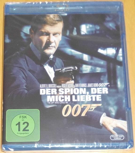 James Bond 007 - Der Spion, der mich liebte Blu-ray Neu
