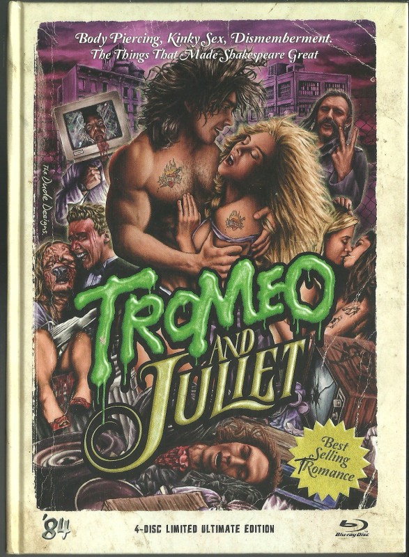 TROMEO AND JULIET - Mediabook  OVP