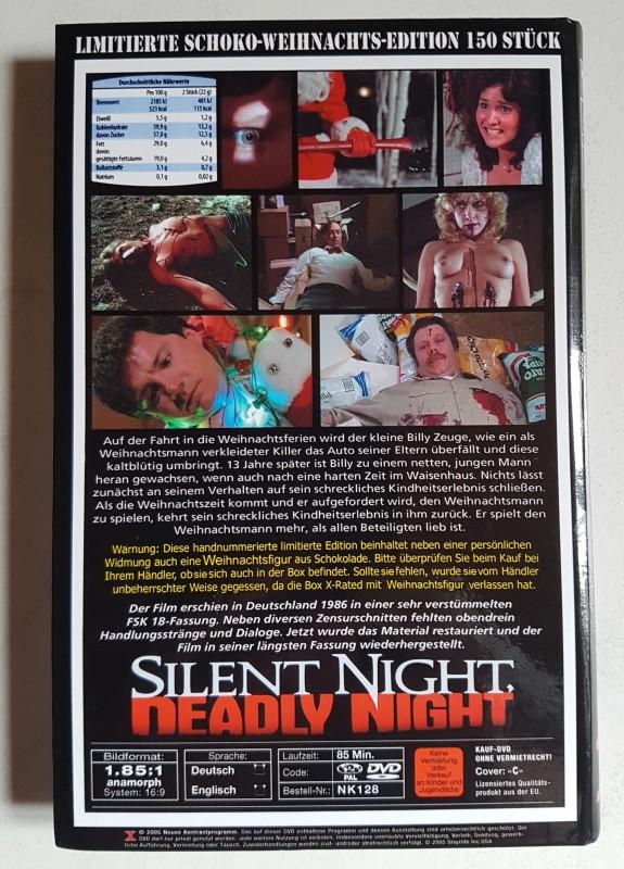 SILENT NIGHT DEADLY NIGHT [DVD] - große Hartbox - Full Uncut