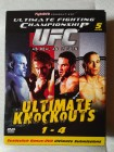 UFC ULTIMATE KNOCKOUTS 1-4  /  5 DVDs