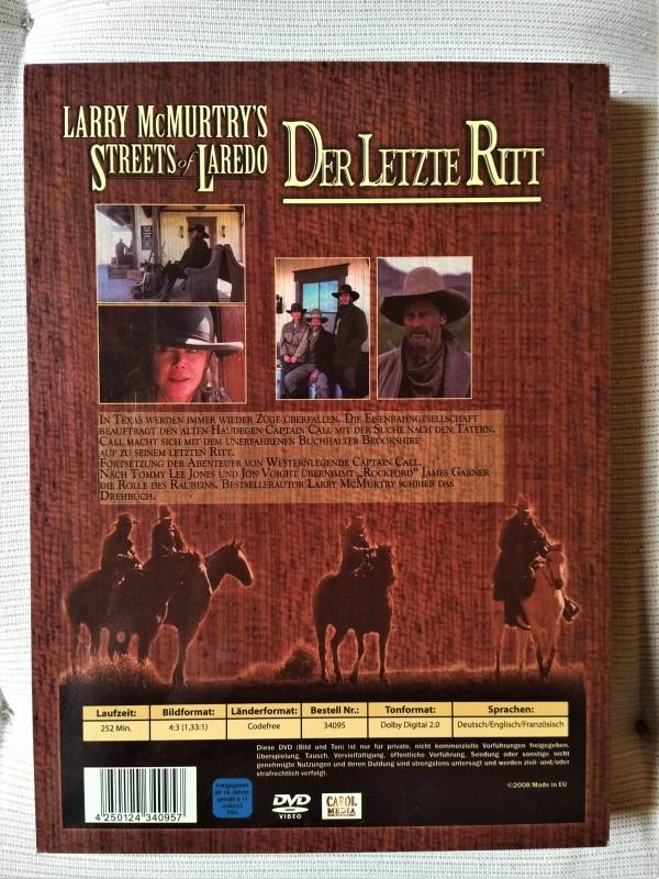 Der letzte Ritt - Streets of Laredo  ( Holzbox ) Spezial Edi