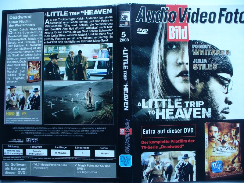 A Little Trip to Heaven ... Forest Whitaker ... DVD