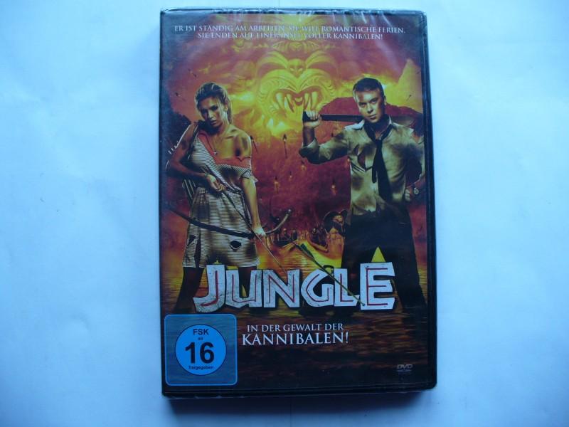 Jungle - In der Gewalt der Kannibalen !  ... DVD ... OVP !!!
