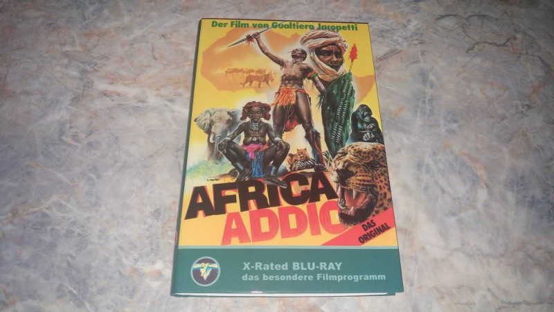 ** AFRICA ADDIO - X-Rated **