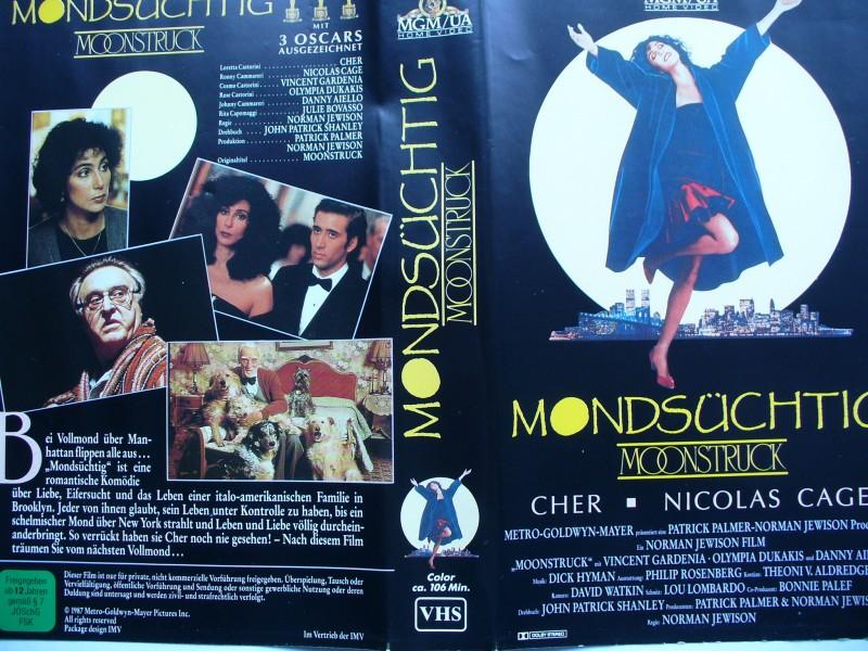 Mondsüchtig ... Cher, Nicolas Cage, Danny Aiello ... VHS