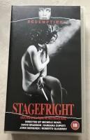 Stagefright - uncut VHS -  Redemption - Splatter Kult