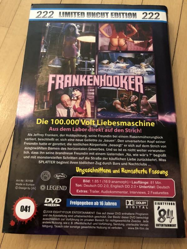 Frankenhooker - 84 Entertainment - Große Hartbox
