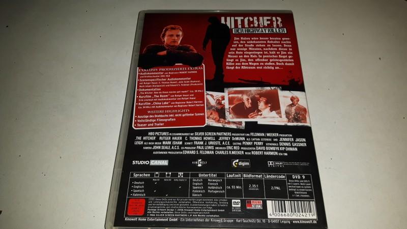HITCHER DER HIGHWAY KILLER  DVD