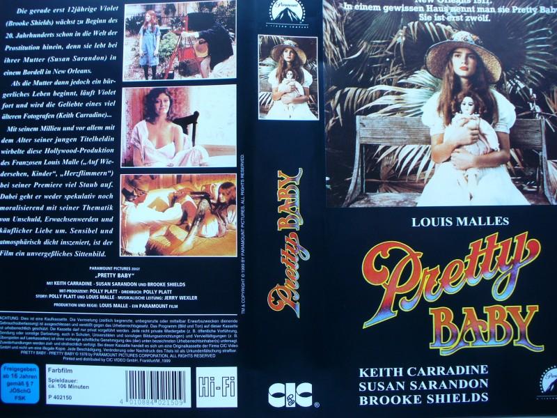 Pretty Baby ... Brooke Shields, Keith Carradine ... VHS