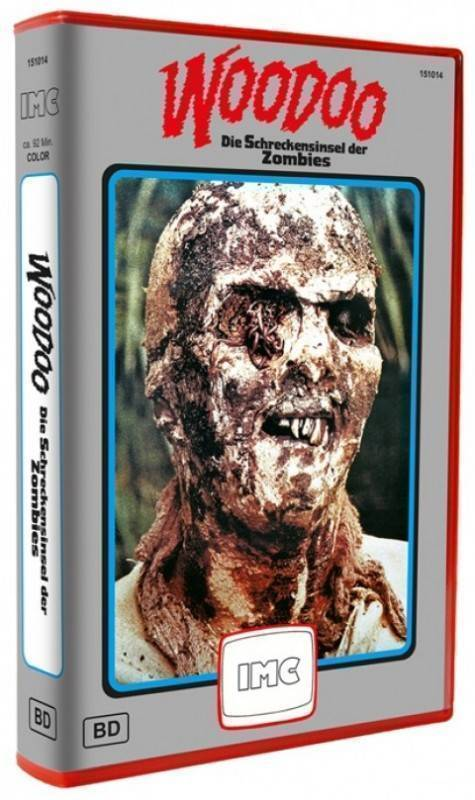 Woodoo IMC XT Blu-ray Red Box VHS Retro 250 Limited Ovp (AT)