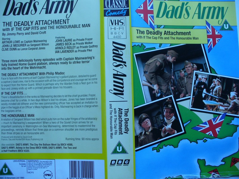 Dad´s Army - The Deadly Attachment  ... engl. VHS