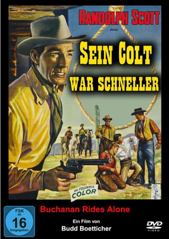 SEIN COLT WAR SCHNELLER  Western 1958