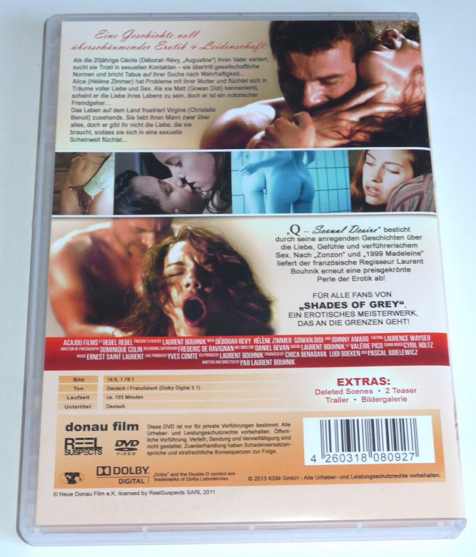 Q - Sexual Desire # uncut # Penthouse # Erotik Drama FSK18